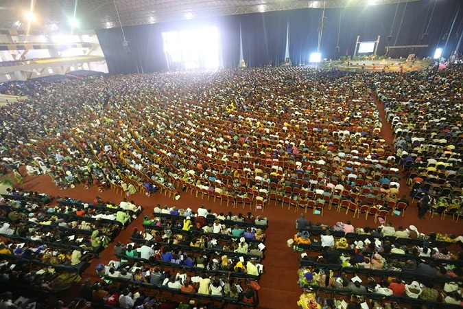 Inside Dunamis International Gospel Centre 100,000 Capacity Building - Glory Dome
