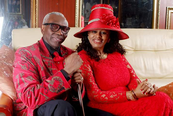 Pastor Ayo Oritsejafor and his wife Helen Oritsejafor
