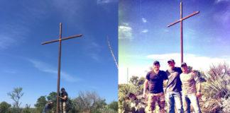 chris-pratt-and-friends-erect-huge-metal-cross