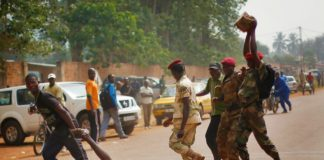 Muslim Rebels in Central African Republic