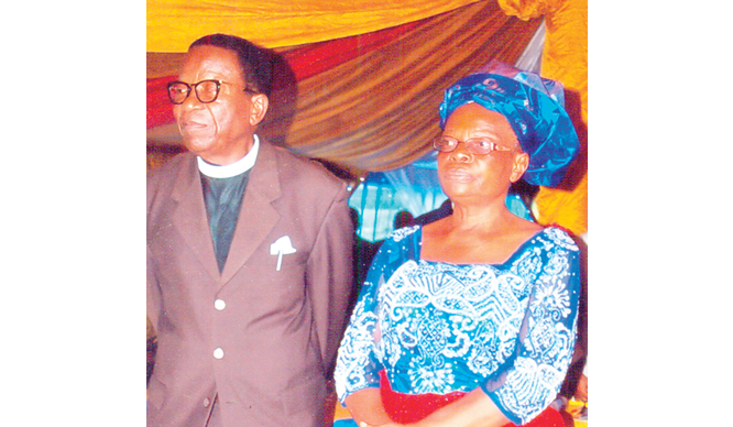 Apostle S.E. Igwe with His Wife Deaconess Rose Igwe