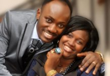 Apostle Johnson Suleman with his wife, pastor Lizzy