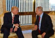 US President Donald J. Trump and Israeli Prime Minister Benjamin Netanyahu
