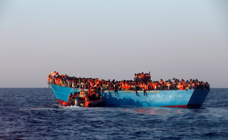 Group Rescues Over 1,000 Migrants At Sea In 3 Says
