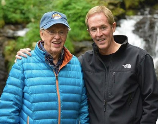 Andy Stanley with His Father - Charles Stanley