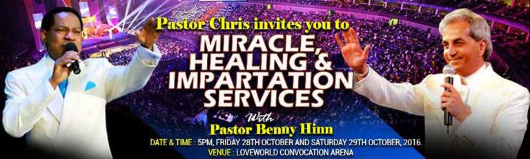 Pastor Benny Hinn Storms Lagos Nigeria