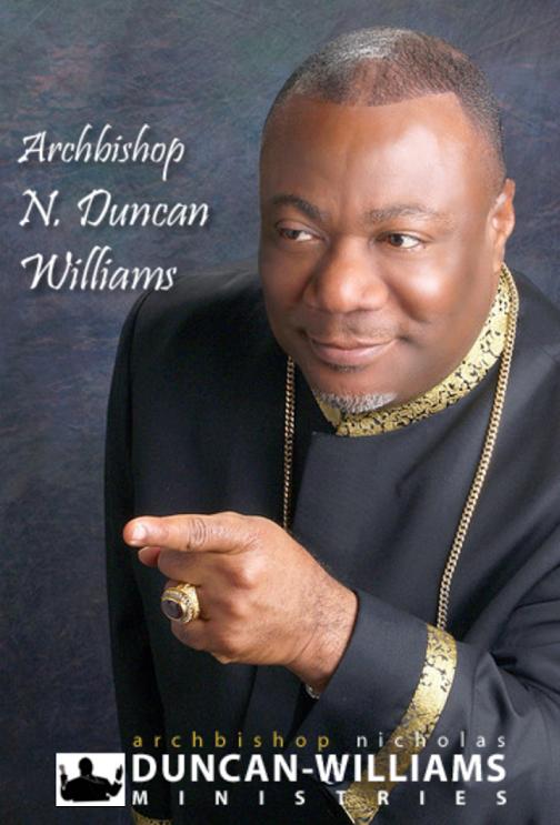 Biography Of Archbishop Nicholas Ducan Williams