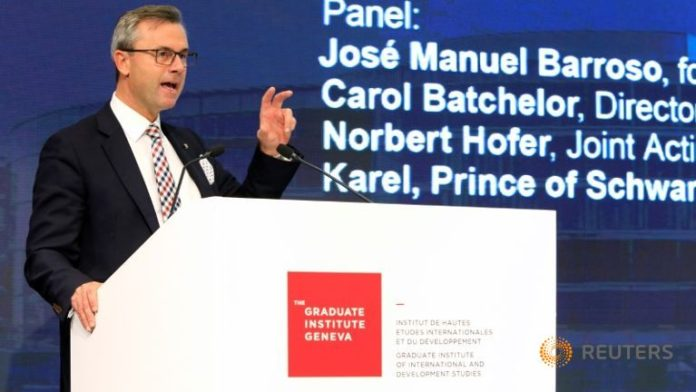 Norbert Hofer, Joint Acting President of Austria and Third President of the National Council