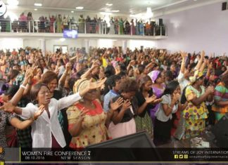 Streams of Joy women-fire-conference-October 8, 2016