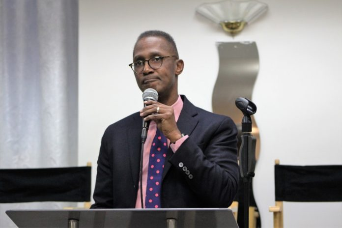 Bishop Claude Alexander, senior pastor, The Park Church, Charlotte, North Carolina speaks at the