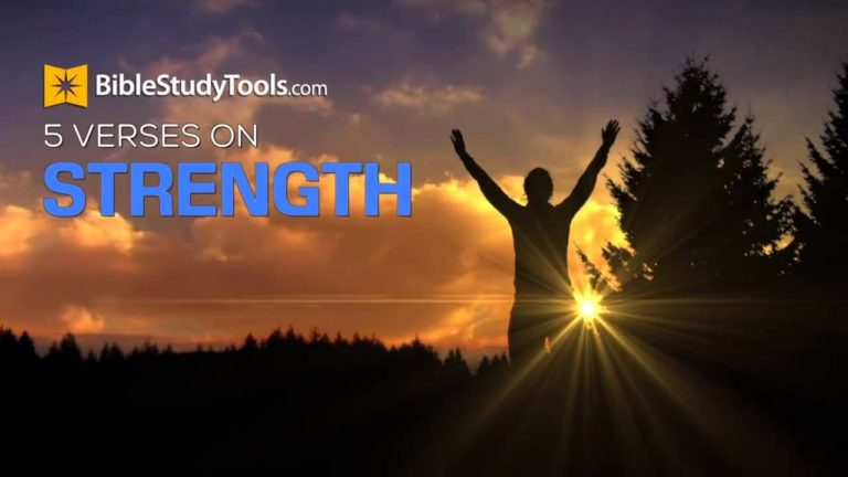 Do You Feel Weak? Here Are 5 Verses To Give You Strength