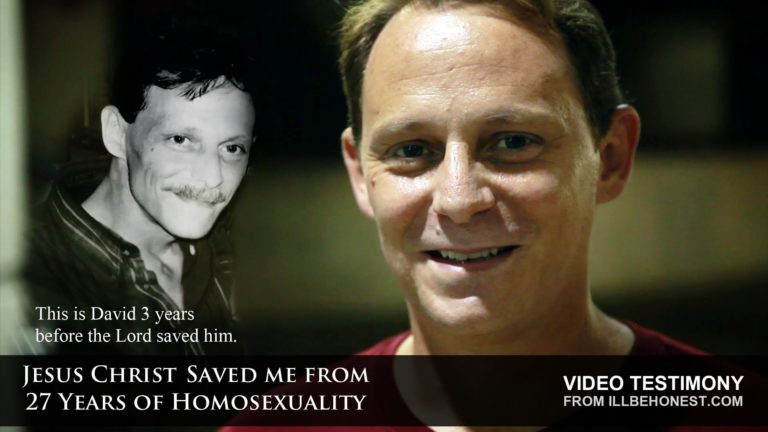 Saved By Jesus Christ From 27-years Of Homosexuality