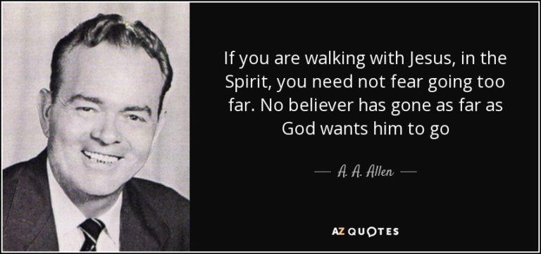 Biography Of A. A. Allen