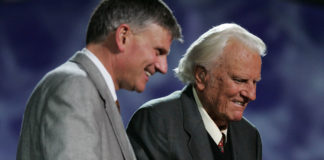 Franklin and Billy graham