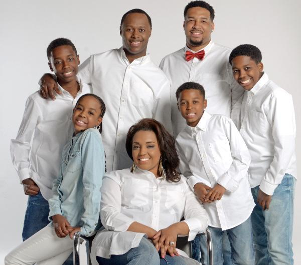 The Micah Stampley family