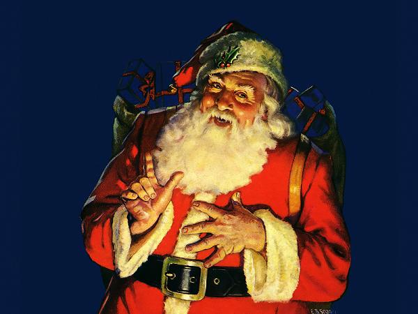 Origin of Santa Claus, Father Christmas