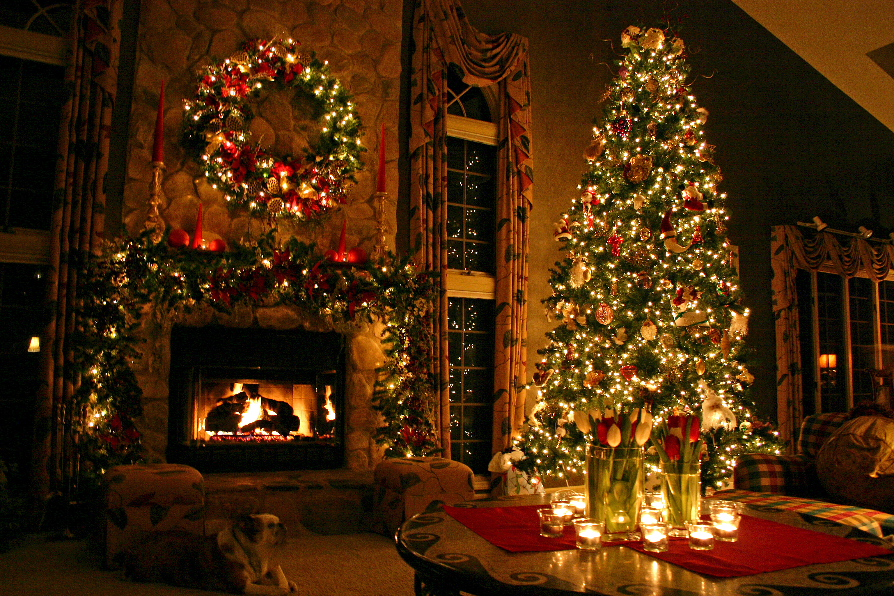 a christmas tree is a decorated tree usually an evergreen conifer such as spruce pine or fir or an artificial tree of similar appearance associated with - Origin Of Christmas Tree