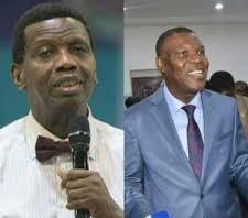 Pastor E. A Adeboye and Pastor Joseph Obayemi