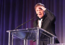 Lance Wallnau addresses attendees at the 3rd Christian Inaugural Gala at the Hilton in Washington, D.C. on Jan. 19, 2017.