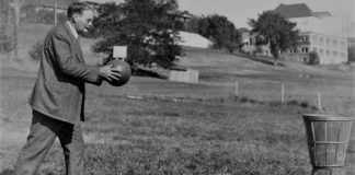 Dr. James Naismith - basketball inventor