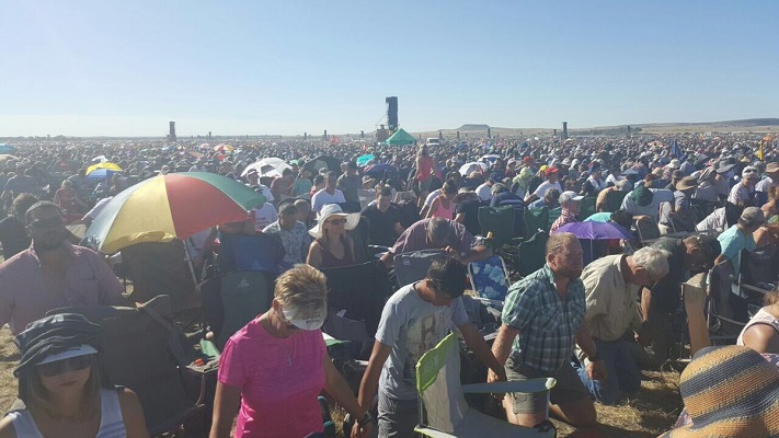 'Millions' Of South Africans Cry Out To God, Biggest Prayer Gathering Ever