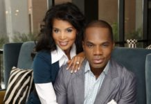 Kirk Franklin and Wife Tammy