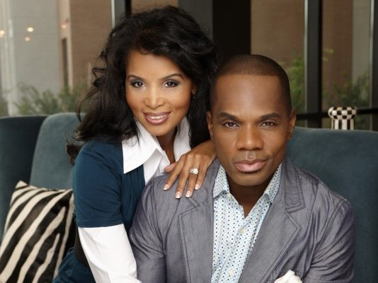 Kirk Franklin and Wife Tammy