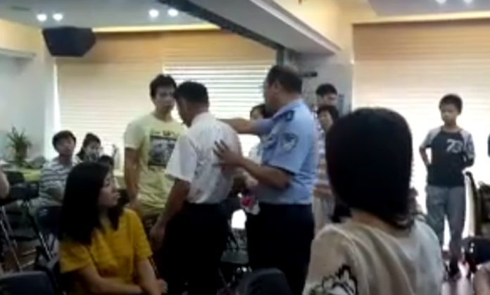 Police Raid Chinese Church