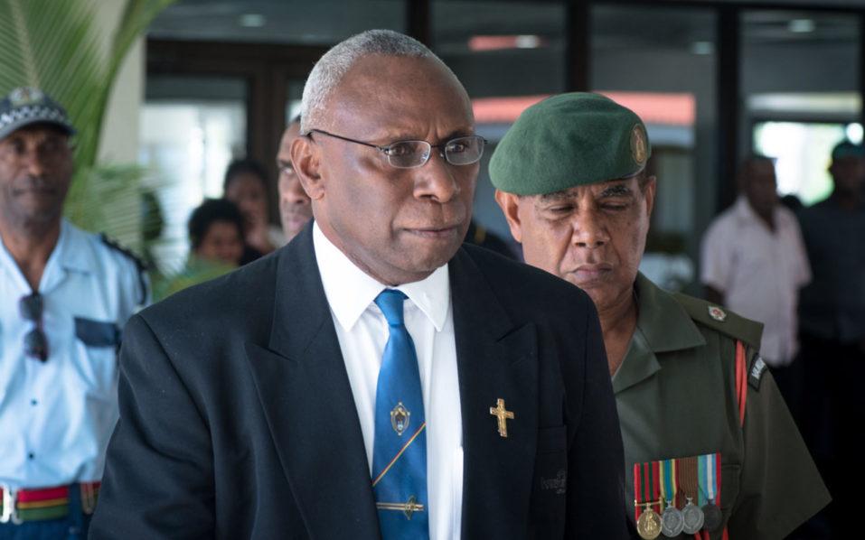 Vanuatu President Pastor Tallis-Obed-Moses
