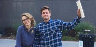 Austin Wesson and Rebekah Bouma