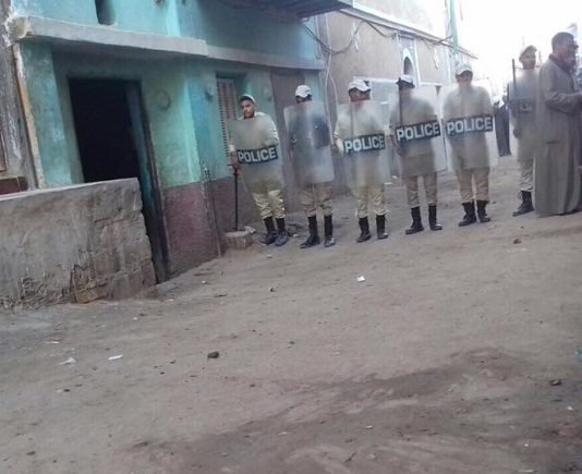 On Sunday (20 August), local police prevented the Copts from accessing the building they had been using as a church, saying they didn't have the necessary permit.
