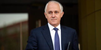 Australia PM Malcolm Turnbull
