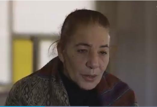 Syrian Refugee Widow Amal In Greece