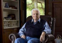 Evangelist Billy Graham