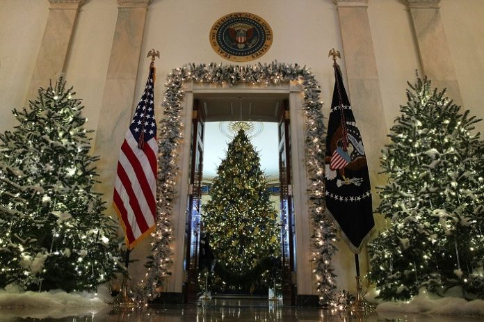 The theme of the White House Christmas decorations this year is