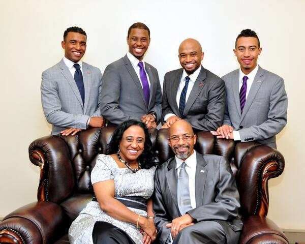 Bishop Tudor Bismark Family
