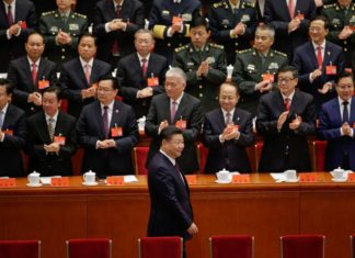 Chinese President Xi Jinping arrives for the opening of the 19th National Congress of the Communist Party of China at the Great Hall of the People in Beijing, China October 18, 2017. REUTERS