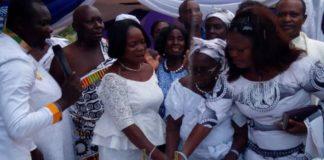 Madam Comfort Adwoa Okorewah, an Occult Priestess Turned Christian Celebrates 108th Birthday with Her 107 Children