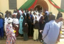 Shiite Muslims gathered in their numbers to celebrate the Christmas with Christians in Jos, Plateau state, Nigeria