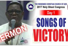 Apostle Alex Bamgbola Sermon At RCCG 2017 Holy Ghost Service