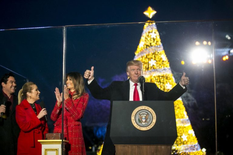 Jesus Christ Is The Reason For The Season, Trump Declares