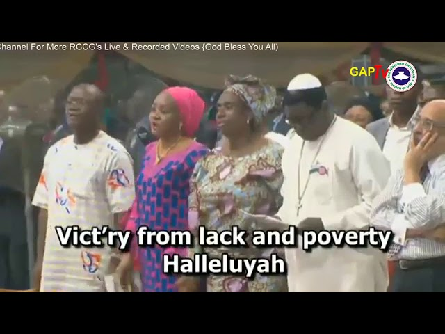 Pastor Adeboye, Others Sing RCCG 2017 Holy Ghost Congress Hymn (Video)
