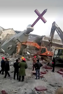 China Tears Down Crosses And Close Down Churches In Henan