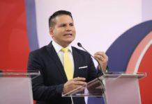 Fabricio Alvarado Munoz is a singer and worship leader