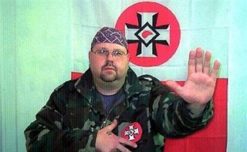 Former Ku Klux Klan leader Joe Bednarsky Jr.