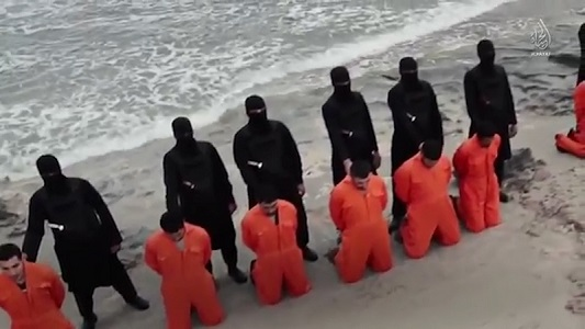 On 15 February 2015, 21 Christians were beheaded by the Islamic State group, which shared the graphic footage online.