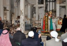 Church holds prayers for first time in nearly six years in former IS Syria stronghold
