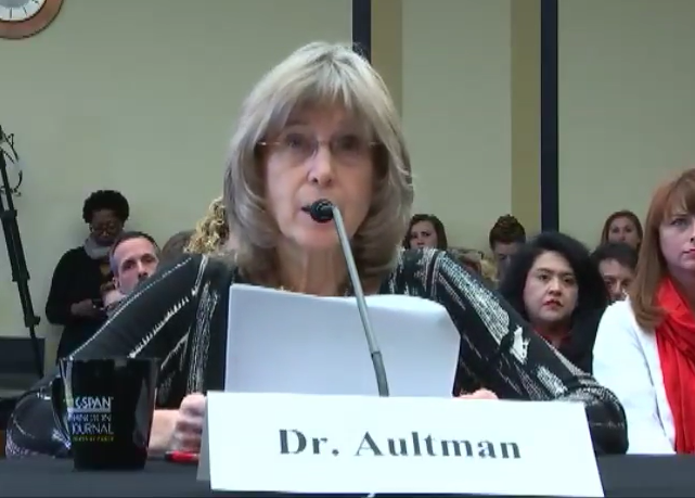 Dr. Kathi A. Aultman shared why she stopped committing abortions in front of the Senate Judiciary Committee Hearing