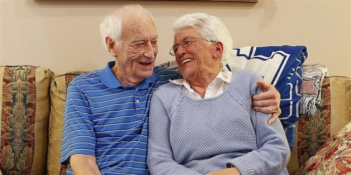 Harold Holland and Lillian Barnes in Lexington, Kentucky. The two, who were married in 1955 and divorced in 1968, are getting married again.