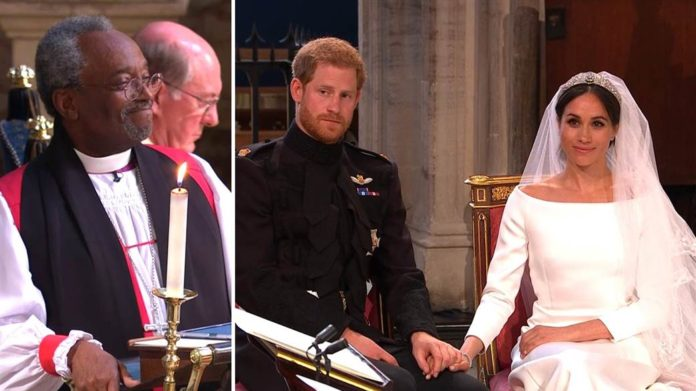 Rev. Michael Curry delivers a powerful Sermon in Prince Harry And Meghan's Royal Wedding